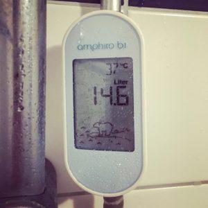 Waterverbruik meter