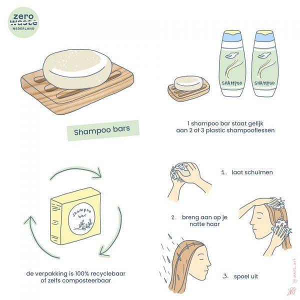 overstappen naar shampoo bar - hoe doe je dat