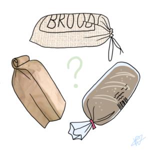 Diverse broodzakken
